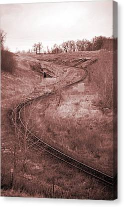 Coal Line S Canvas Print by Jame Hayes