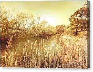 Vintage River Scenes Canvas Print - Coal River Richmond by Jorgo Photography - Wall Art Gallery