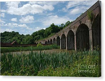 Coalbrookdale Railway Viaduct Canvas Print by Mickey At Rawshutterbug