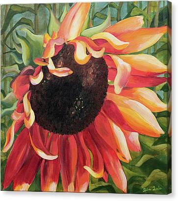 Coalesce Canvas Print by Trina Teele
