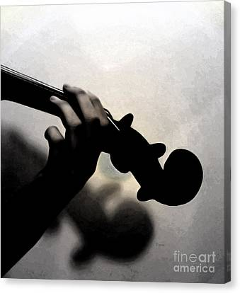Violin Canvas Print - Coalescence  by Steven Digman