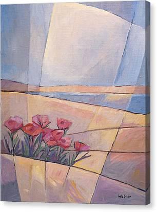 Coast Flowers Canvas Print