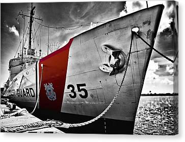 Coast Guard Canvas Print by Alessandro Giorgi Art Photography