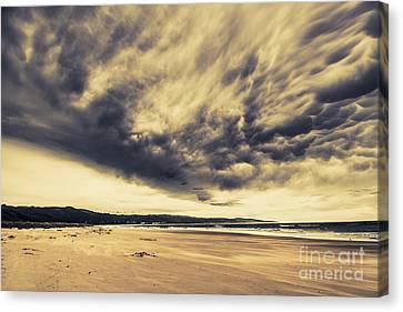 Turbulent Skies Canvas Print - Coast Of Marengo Victoria by Jorgo Photography - Wall Art Gallery