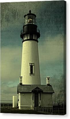 Coastal Breeze At Yaquina Head Canvas Print