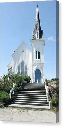 Coastal Church Canvas Print