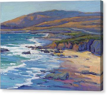 Coastal Cruising 8, San Simeon Canvas Print