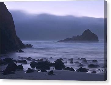 Coastal Fog - Big Sur Canvas Print