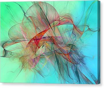 Coastal Kite Canvas Print by Betsy Knapp