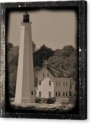 Coastal Lighthouse 2 Canvas Print