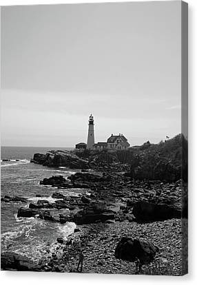 Coastal Maine Canvas Print