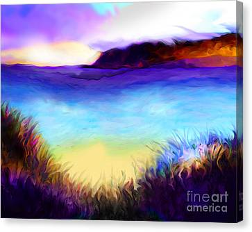 Coastal Canvas Print