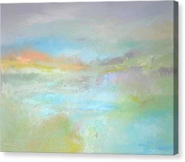 Coastal Mist Canvas Print by Filomena Booth