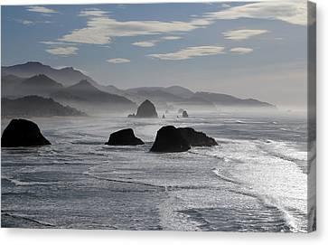 Coastal Mist Canvas Print by Randall Brewer