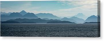 Coastal Mountains Canvas Print