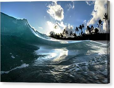 Coastal Surge Canvas Print
