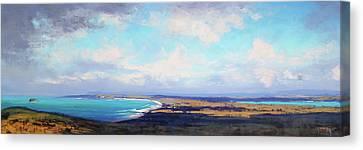 Coastal Vista Nsw Canvas Print by Graham Gercken