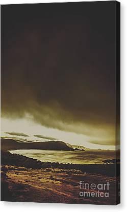 Coastal Wash Canvas Print by Jorgo Photography - Wall Art Gallery