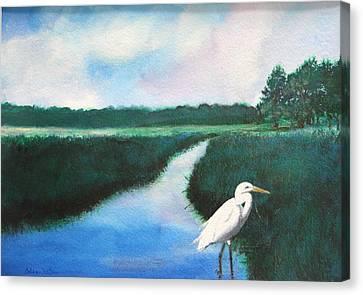 Coastal Wetlands Canvas Print