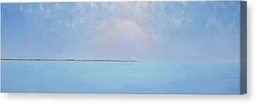 Coasting Into Lavender Canvas Print by Jaison Cianelli