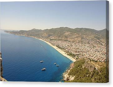 Coastline Canvas Print by Paul Syrbu