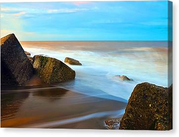 Coastline Canvas Print by Svetlana Sewell