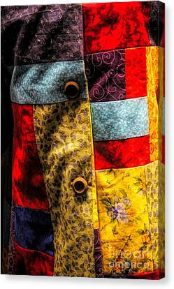 Canvas Print - Coat Of Many Colors by Paulette Thomas