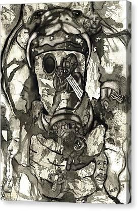 Cobra Canvas Print by Valera Ainsworth