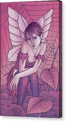 Cobweb Canvas Print by Yuri Leitch