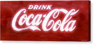 Coca Cola Canvas Print