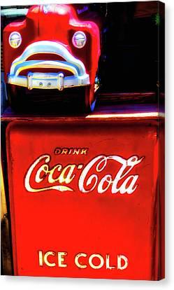 Coca Cola Ice Cold Canvas Print