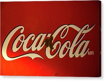 Coca-cola Sign  Canvas Print by Toni Hopper