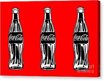 K005 Coke Bottle Sunset Painting Print
