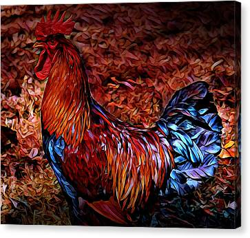 Cock Rooster Canvas Print