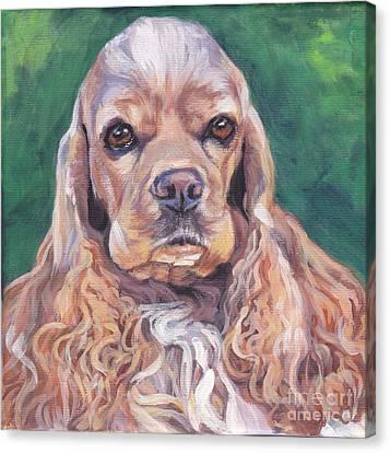 Cocker Spaniel Canvas Print by Lee Ann Shepard