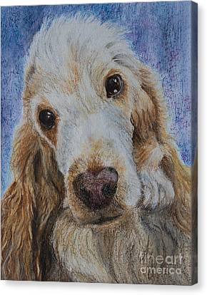 Cocker Spaniel Love Canvas Print