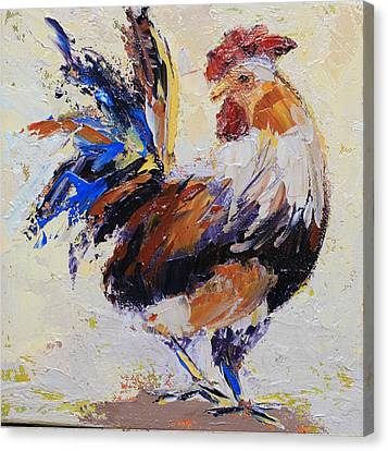 Cockrell Two Canvas Print by Yvonne Ankerman