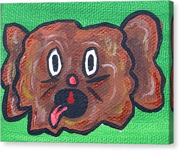 Coco Bean Canvas Print