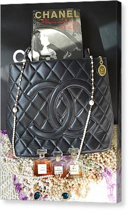 Coco Chanel Legacy Canvas Print by To-Tam Gerwe