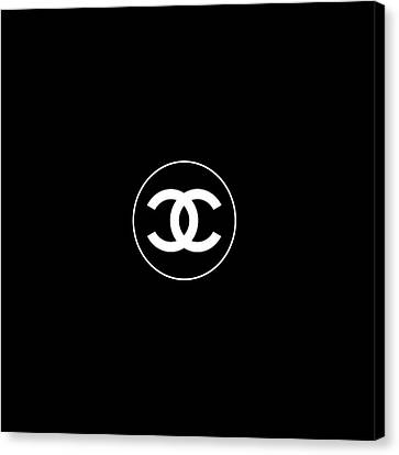 Style Canvas Print - Coco Chanel by Tres Chic