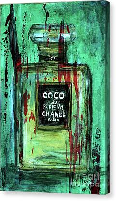 Canvas Print featuring the painting Coco Potion by P J Lewis