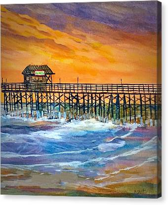 Cocoa Beach Pier Canvas Print