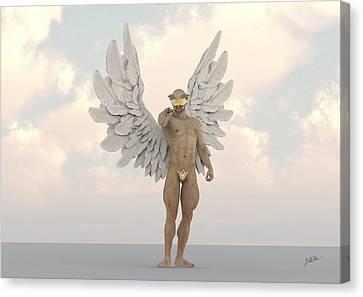 Seraphim Angel Canvas Print - Coconut Angel by Joaquin Abella