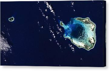 Cocos Islands Canvas Print by Adam Romanowicz