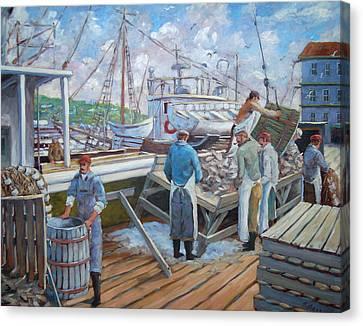 Cod Memories Canvas Print