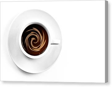 Coffee And Cream Canvas Print by Gert Lavsen