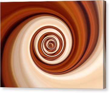 Coffee And Cream Canvas Print by Pauline Thomas