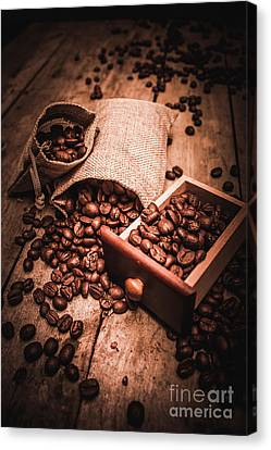 Coffee Bean Art Canvas Print by Jorgo Photography - Wall Art Gallery