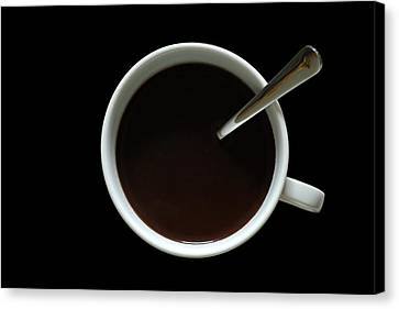 Coffee Cup Canvas Print by Frank Tschakert