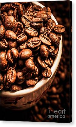 Black Top Canvas Print - Coffee Cup Top Up by Jorgo Photography - Wall Art Gallery